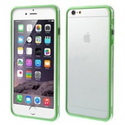 Custodia per iPhone 6s Plus, 6 Plus 5.5 trasp/green
