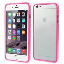 Custodia per iPhone 6s Plus, 6 Plus 5.5 trasp/pink