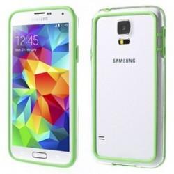 Custodia per Samsung S5 trasp/green