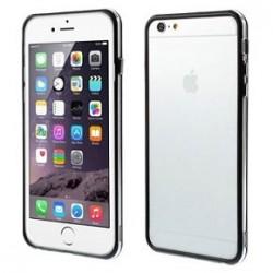 Custodia per iPhone 6s Plus, 6 Plus 5.5 trasp/black