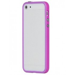 Custodia per iPhone 5, 5S, Viola