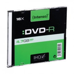 DVD-R 4,7Gb Intenso 10pz