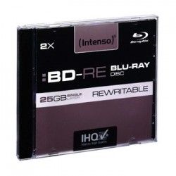 Blu-Ray Disc RE Riscrivibili Intenso 5pz